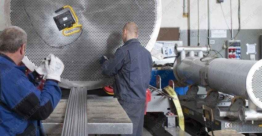 Производители трубчатых теплообменников Кожухотрубный испаритель ONDA LSE 888 Братск