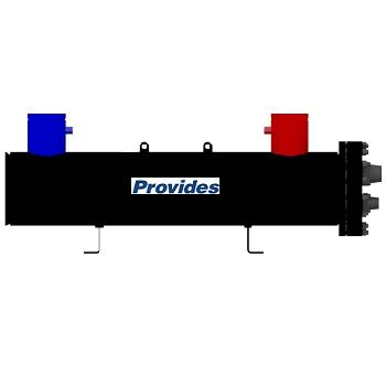 компрессор, теплообменник, отделитель жидкости, ресивер, система управления и предохранит